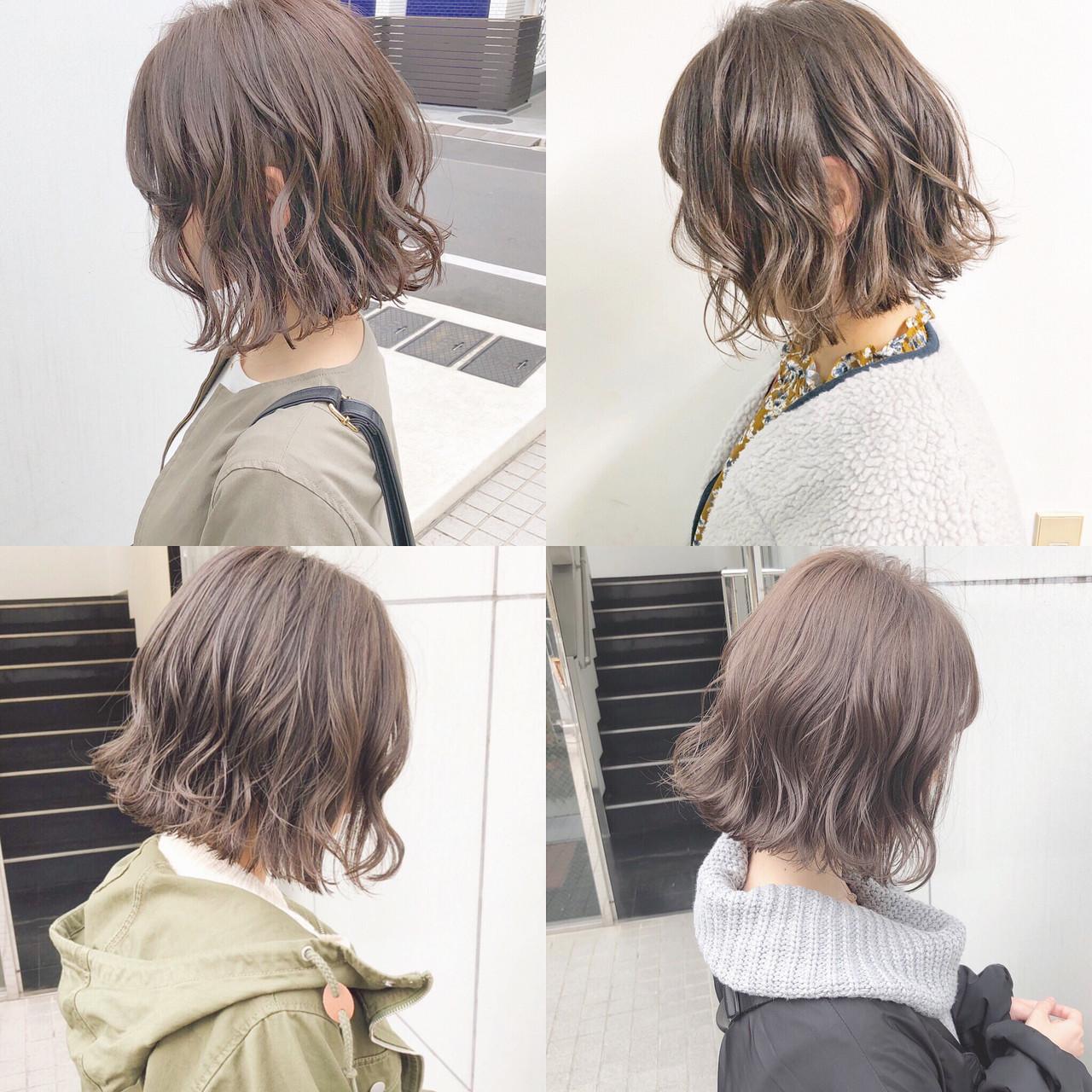 ヘアアレンジ オフィス デート ボブ ヘアスタイルや髪型の写真・画像 | 『ボブ美容師』永田邦彦 表参道 / send by HAIR