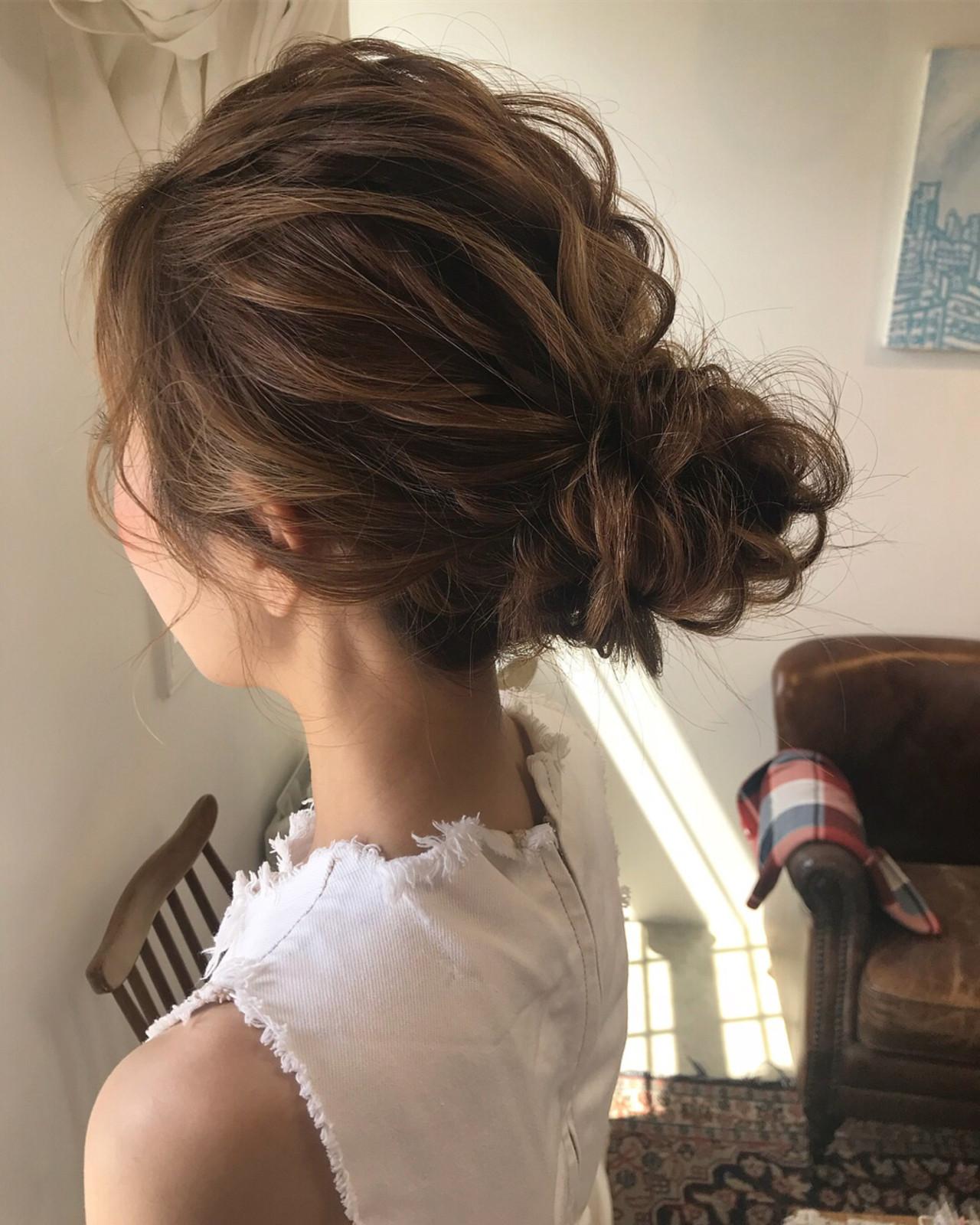 結婚式 上品 成人式 エレガント ヘアスタイルや髪型の写真・画像   小林 明弘 / cyan