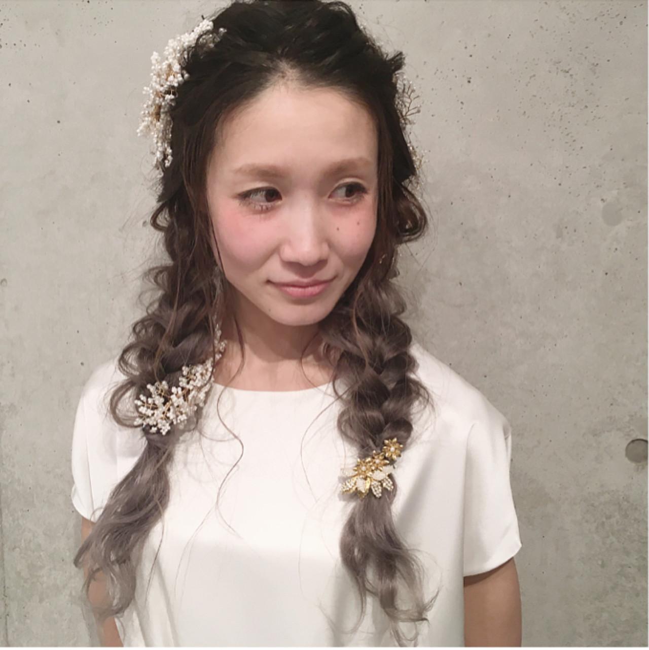 大人女子 ヘアアレンジ 結婚式 大人かわいい ヘアスタイルや髪型の写真・画像