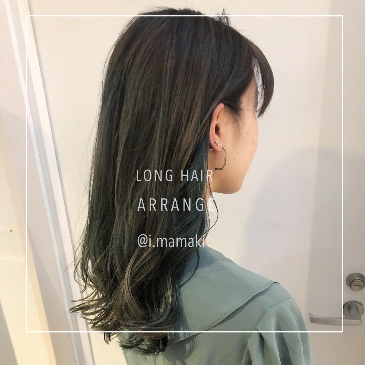 ナチュラル 渋谷系 透明感 オルチャン ヘアスタイルや髪型の写真・画像 | 犬島麻姫子 / fosta