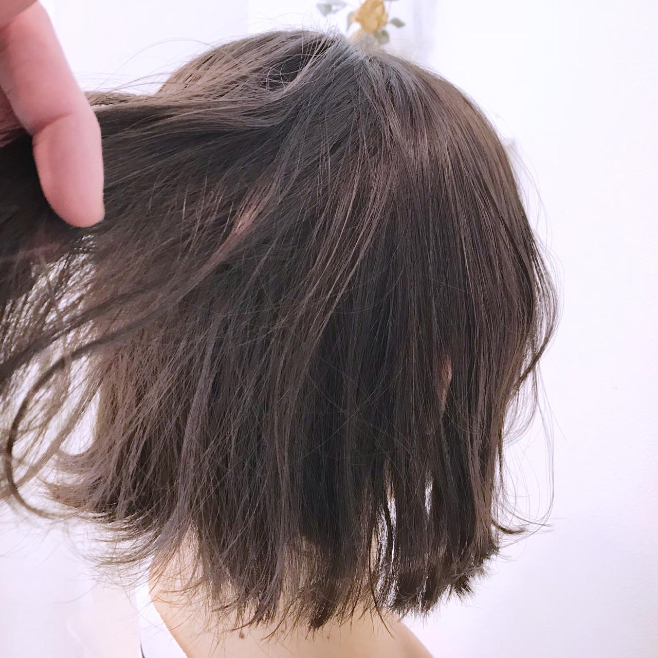 アンニュイ バレンタイン パープル ゆるふわ ヘアスタイルや髪型の写真・画像