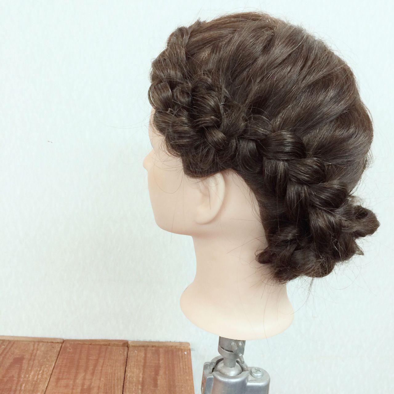 モテ髪 結婚式 コンサバ 愛され ヘアスタイルや髪型の写真・画像
