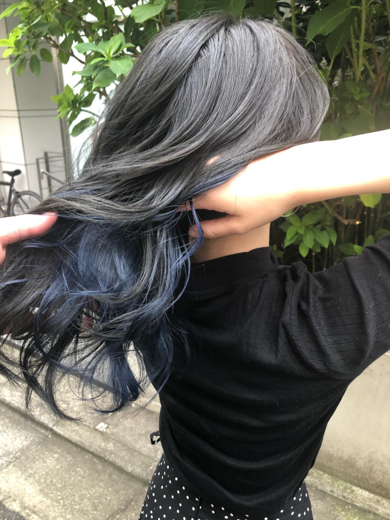 アンニュイ ハイライト ナチュラル グラデーションカラー ヘアスタイルや髪型の写真・画像 | スガ シュンスケ / Tierra (ティエラ)