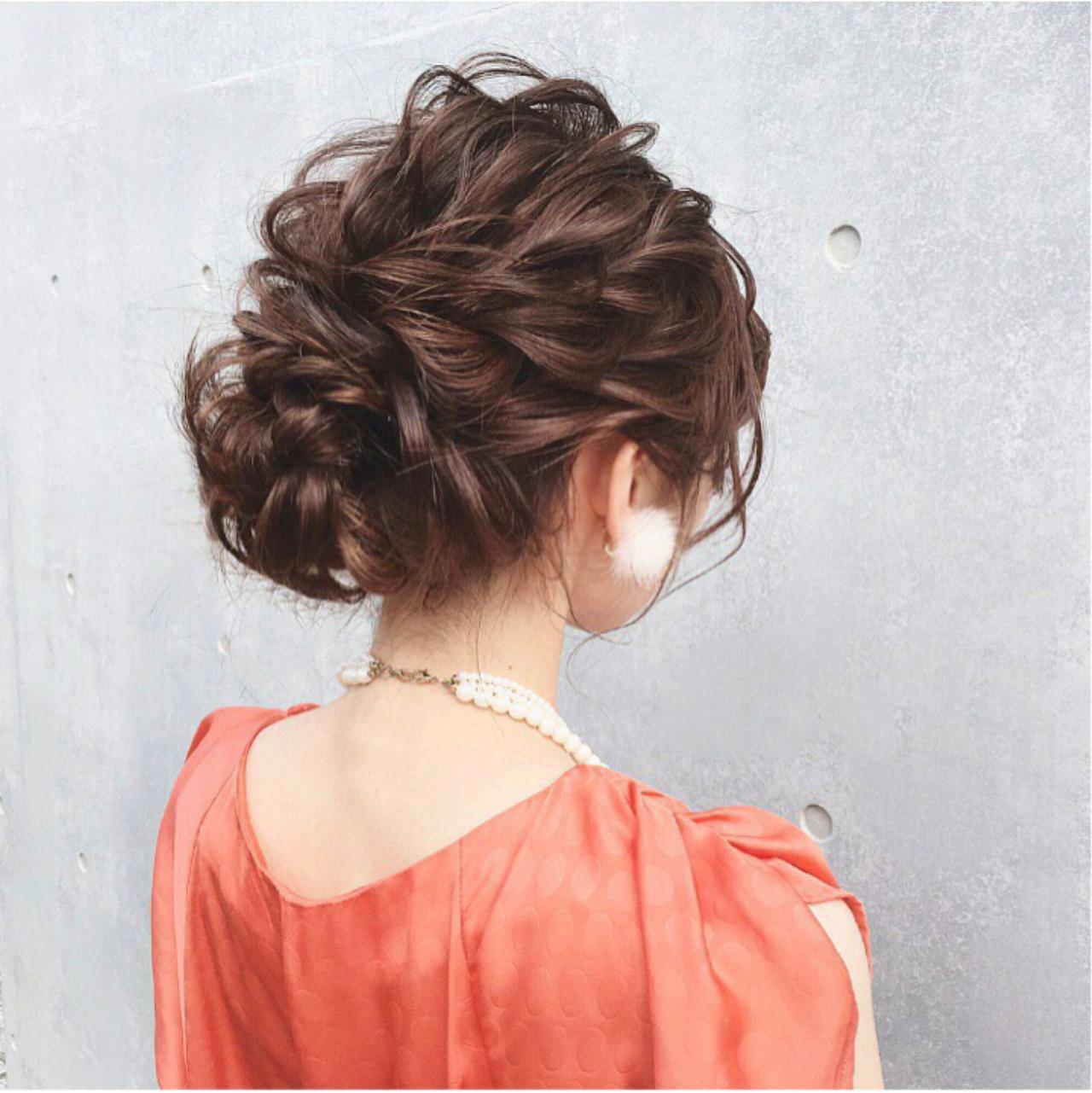 大人女子 ヘアアレンジ エレガント 上品 ヘアスタイルや髪型の写真・画像