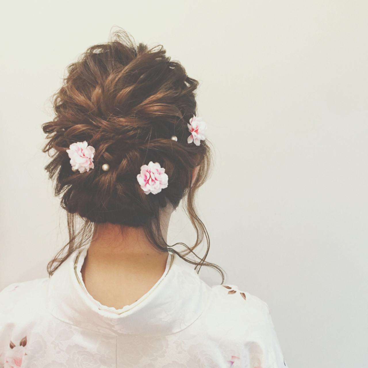ヘアアレンジ 簡単ヘアアレンジ セミロング ゆるふわ ヘアスタイルや髪型の写真・画像 | ヤマキタ トシキ Neolive / Neolive CiroL.