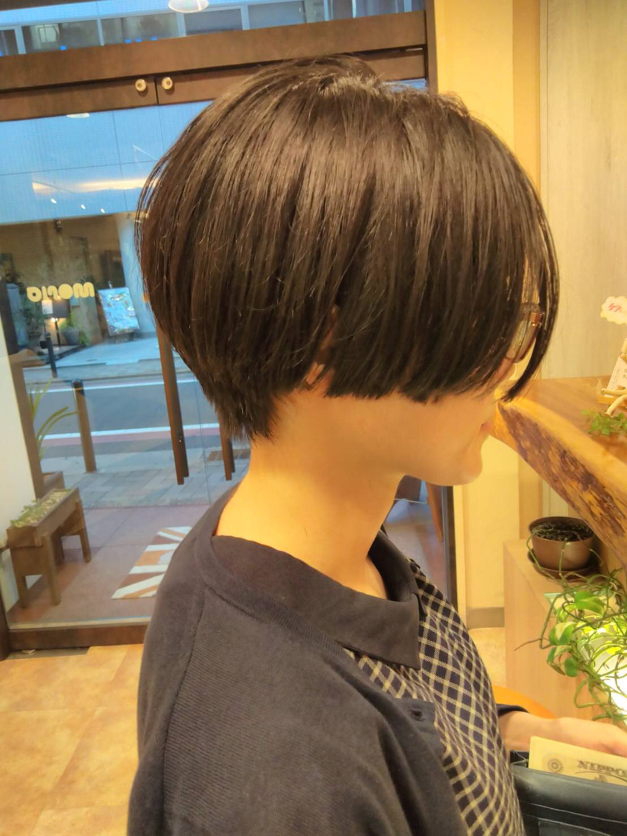 ナチュラル 大人かわいい 艶髪 黒髪 ヘアスタイルや髪型の写真・画像