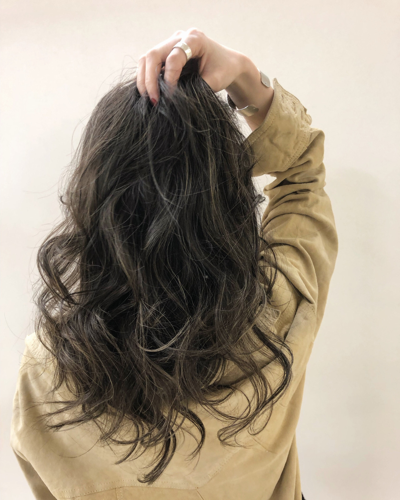 エレガント 外国人風カラー グラデーションカラー ロング ヘアスタイルや髪型の写真・画像