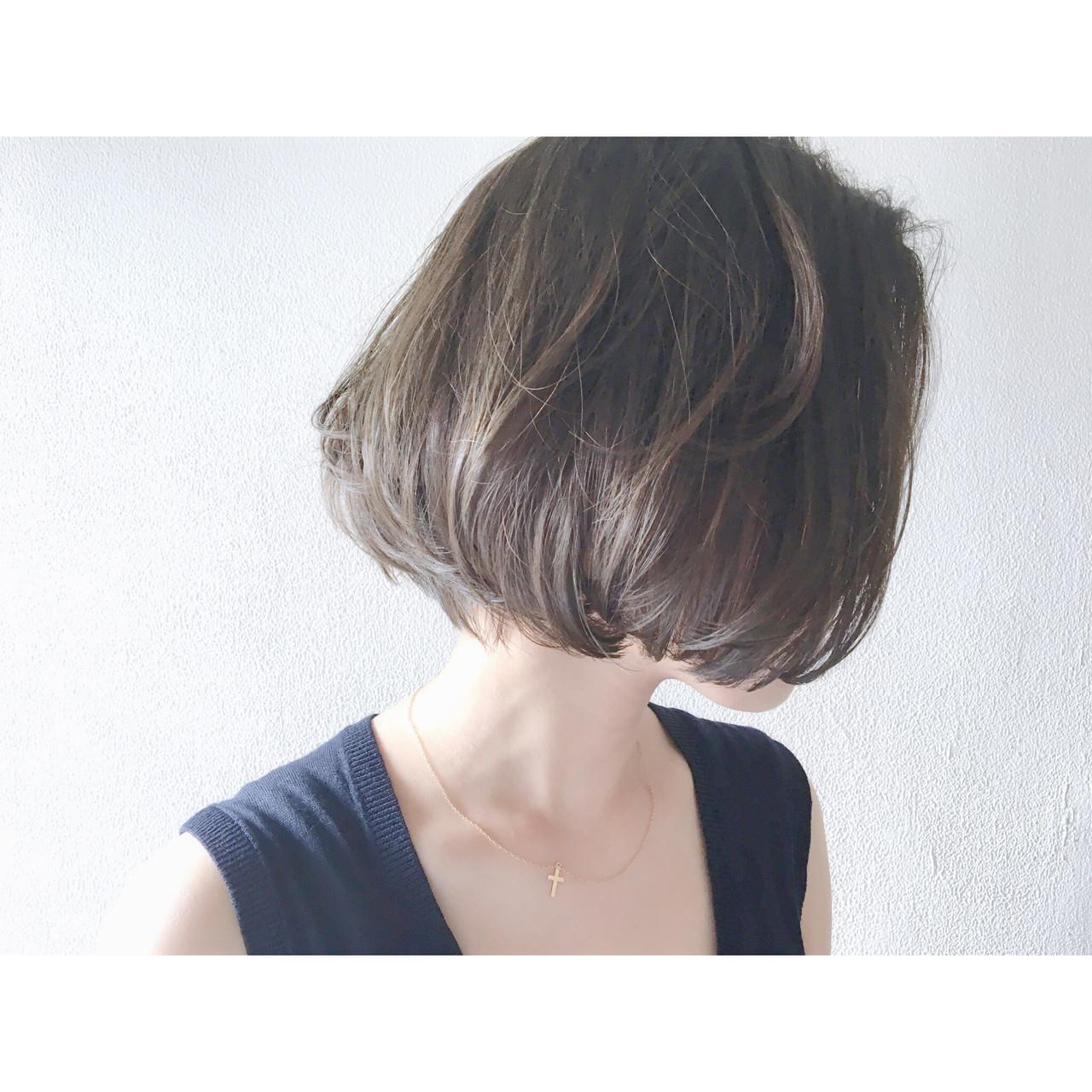 色気 ダークアッシュ ミルクティー アッシュ ヘアスタイルや髪型の写真・画像 | 長 賢太郎 / ky-go