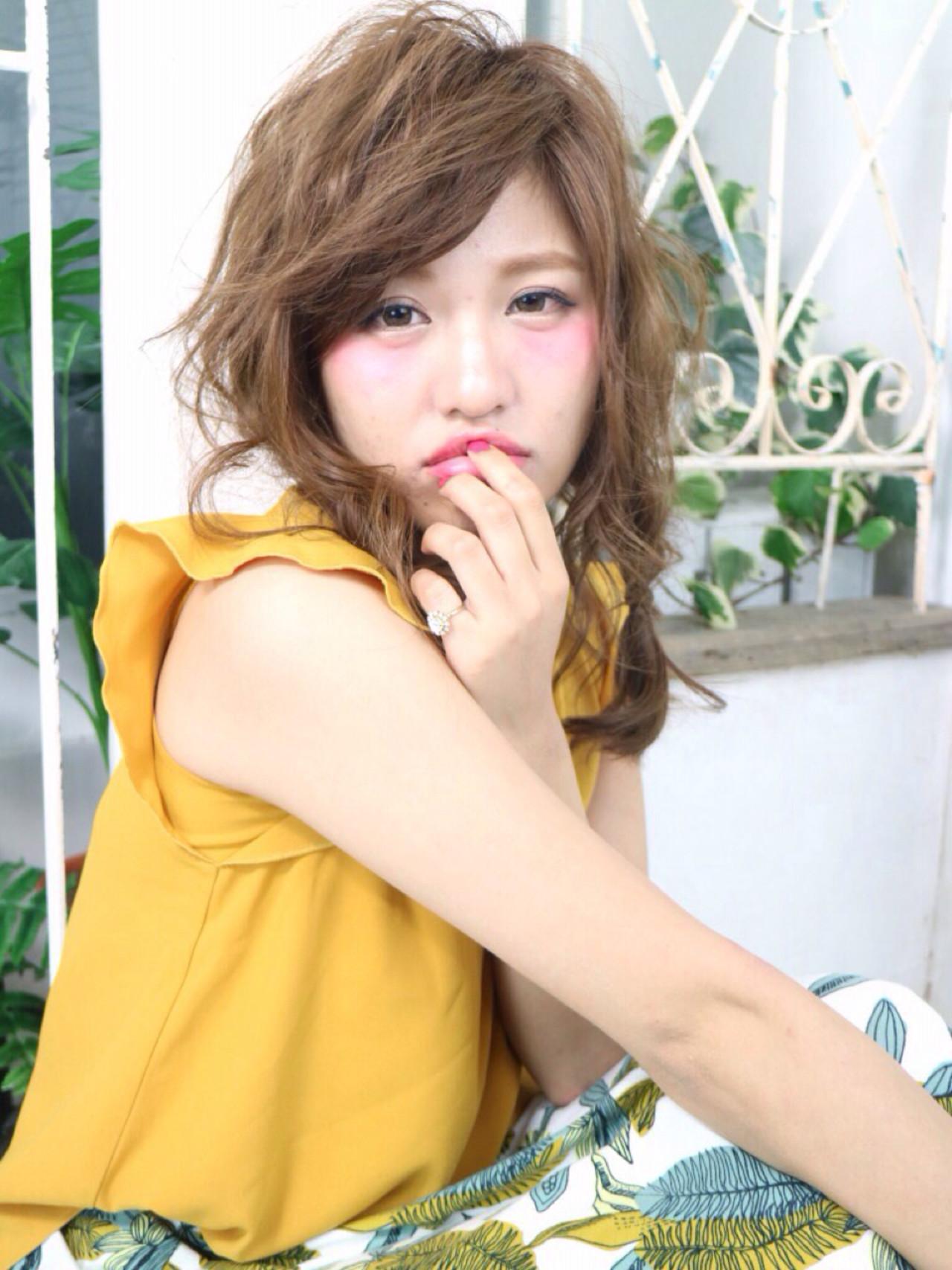 簡単ヘアアレンジ アッシュ ナチュラル ショート ヘアスタイルや髪型の写真・画像