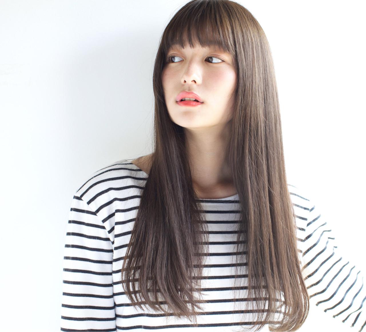 抜け感 ロング アンニュイ 簡単ヘアアレンジ ヘアスタイルや髪型の写真・画像