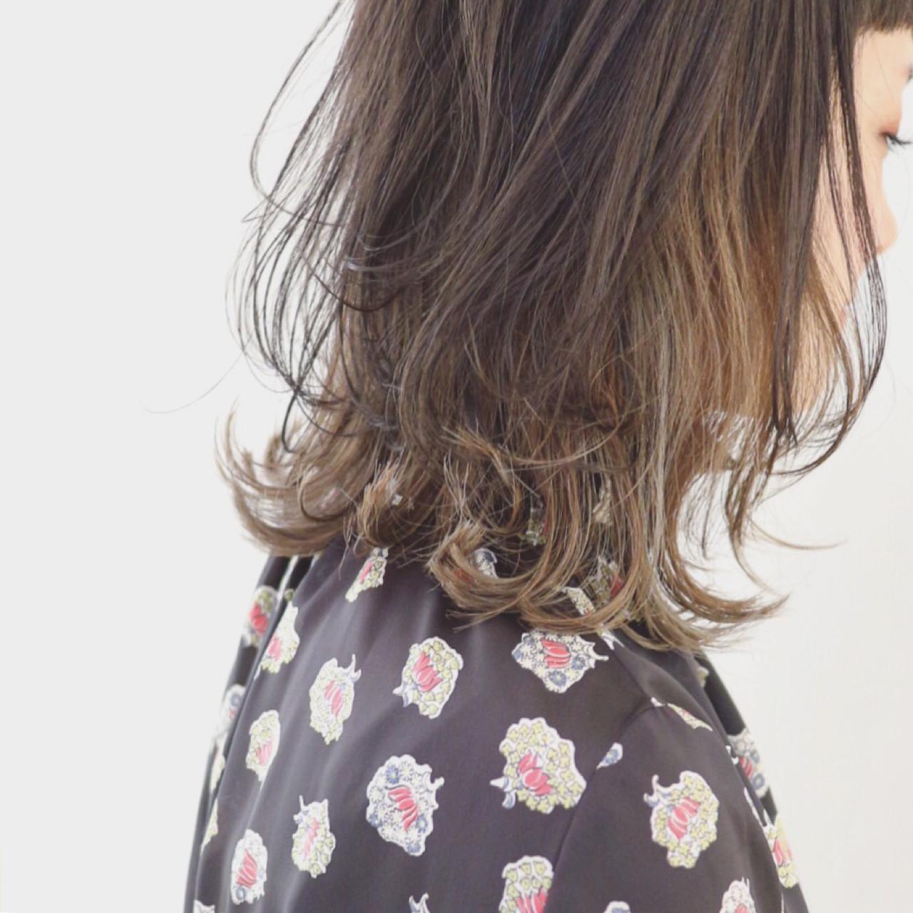 レイヤーカット ストリート 外国人風 グラデーションカラー ヘアスタイルや髪型の写真・画像
