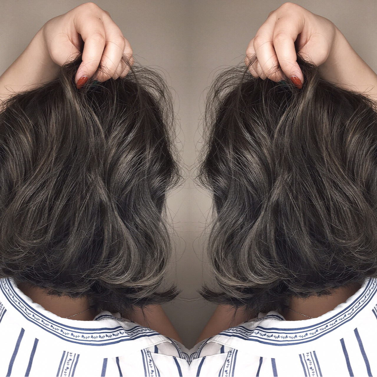 ボブ 外国人風 アッシュ 大人かわいい ヘアスタイルや髪型の写真・画像