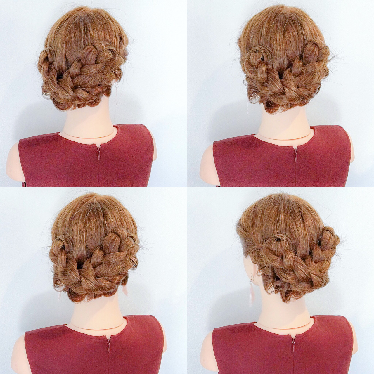 ヘアアレンジ 夏 上品 涼しげ ヘアスタイルや髪型の写真・画像