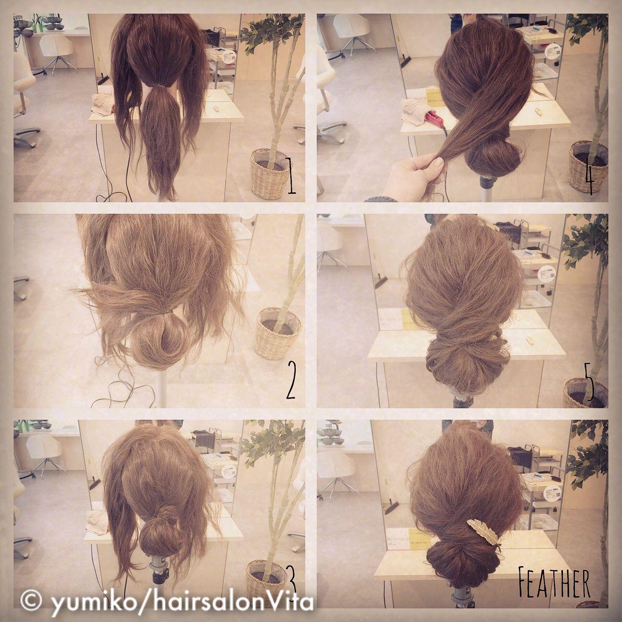 ヘアアレンジ 簡単ヘアアレンジ ショート 結婚式 ヘアスタイルや髪型の写真・画像 | yumiko/sapporoSKNOW / SKNOW