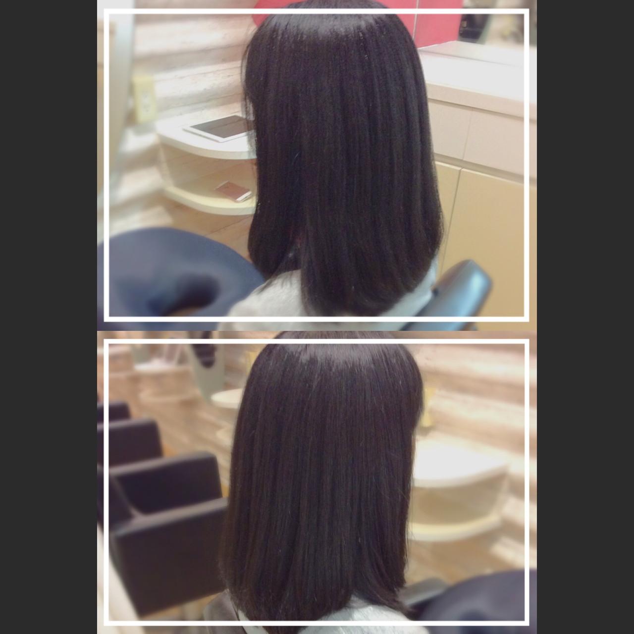 ロング 髪質改善 大人ヘアスタイル 艶髪 ヘアスタイルや髪型の写真・画像