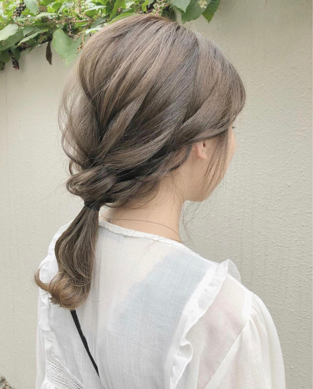 ミルクティーベージュ ミルクティー アッシュ グレージュ ヘアスタイルや髪型の写真・画像 | taku / La familia hair home