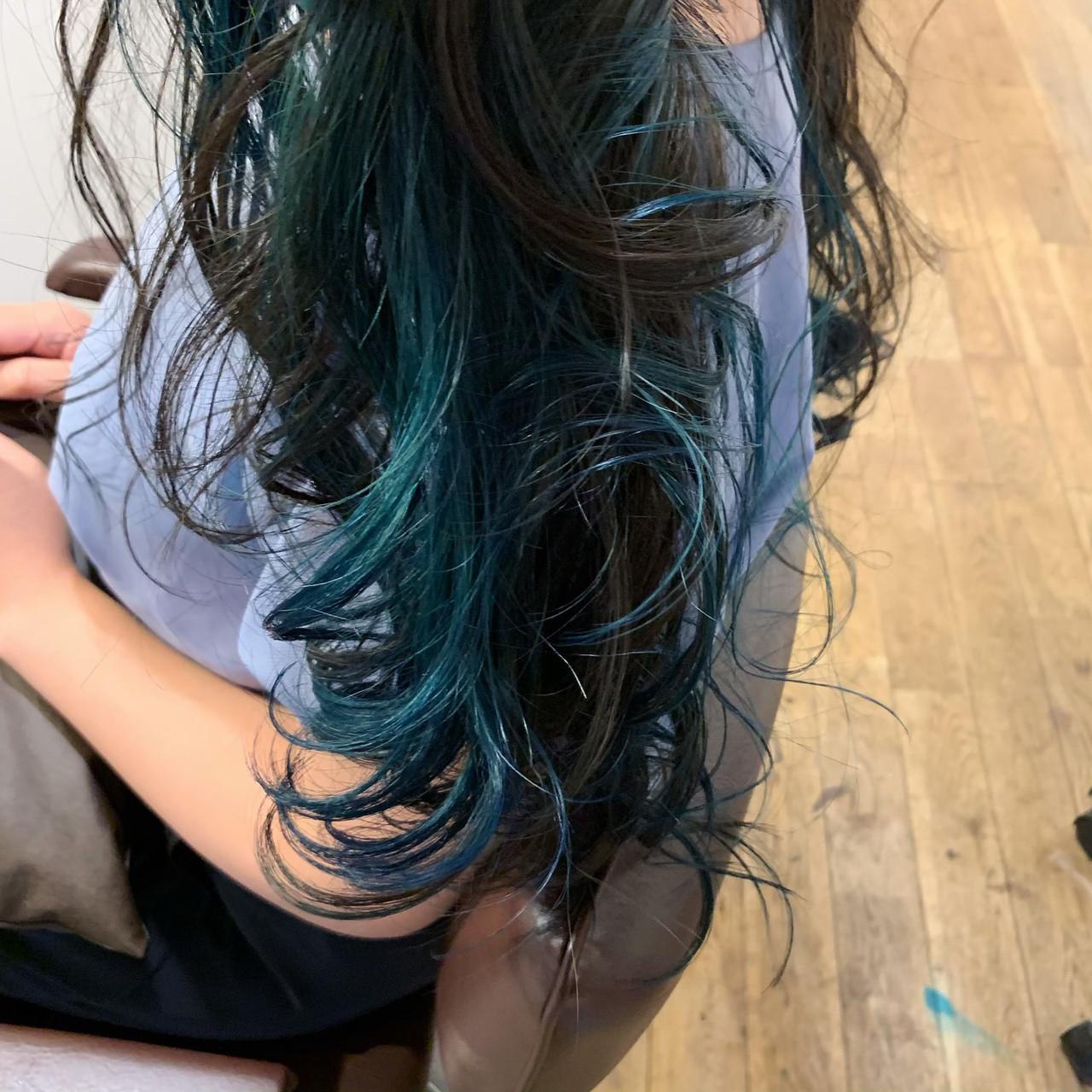 デート ロング 成人式 ストリート ヘアスタイルや髪型の写真・画像 | 中嶋 大輔 / LikkleMore【リコモ】