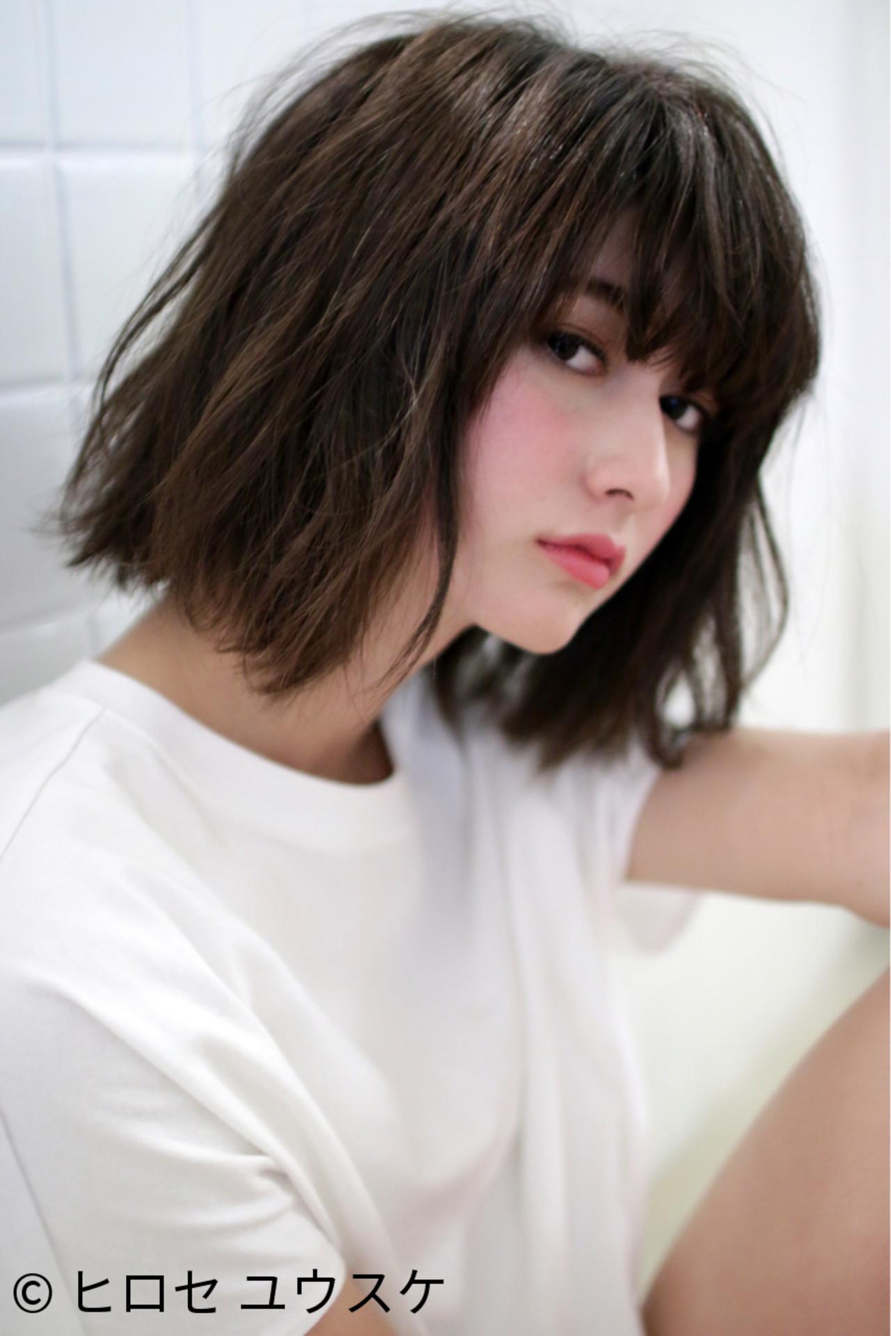 ダークカラーならこの髪型!暗髪を活かす大人かわいいヘア【ボブ