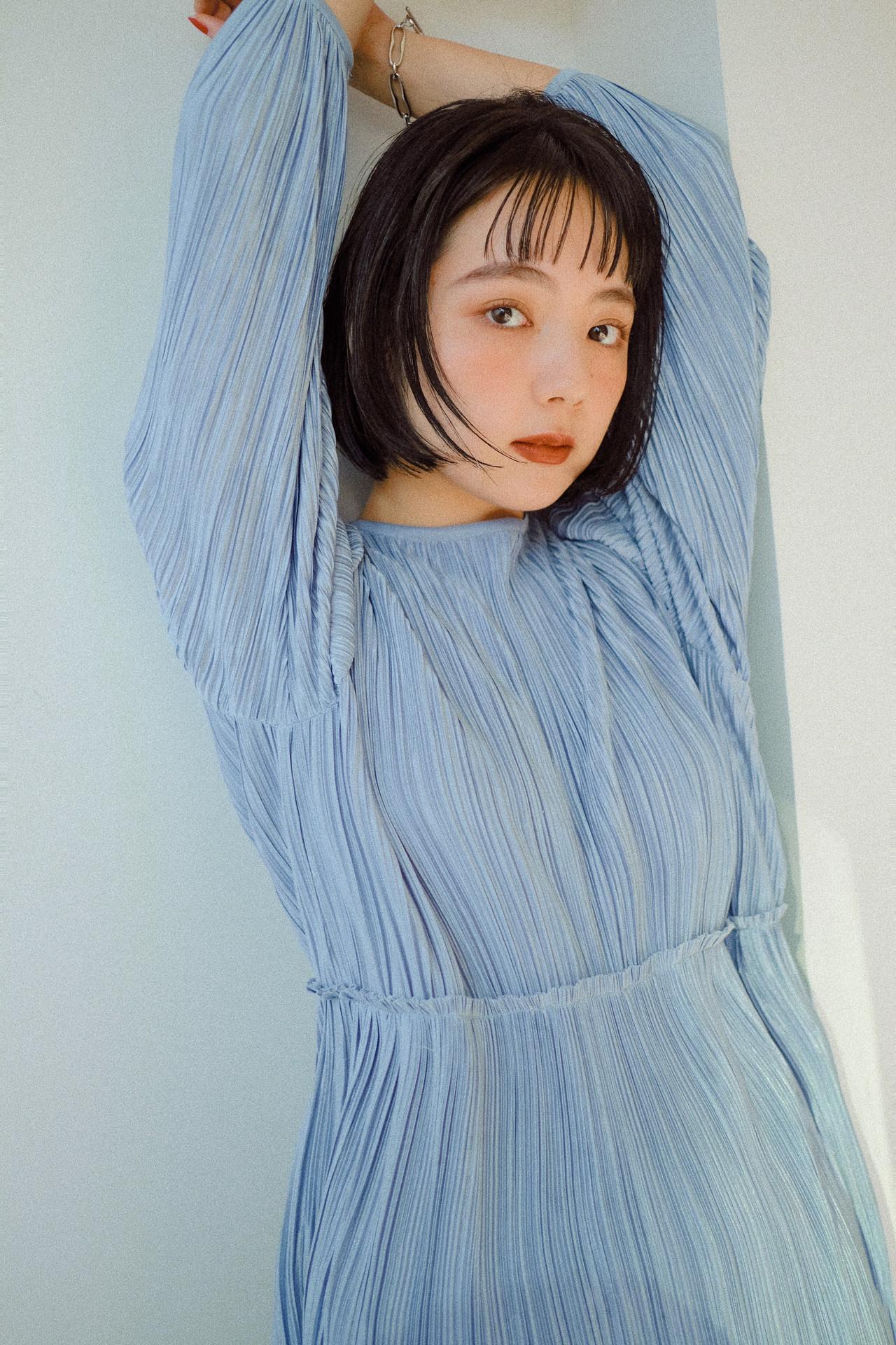 ボブ 大人かわいい アウトドア ナチュラル ヘアスタイルや髪型の写真・画像   YUJI / LIICHI / LIICHI (リイチ)
