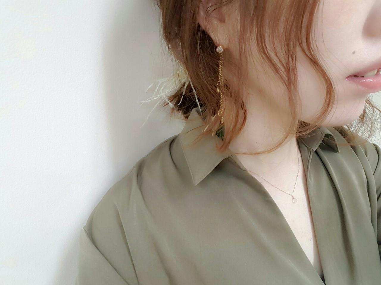 ゆるふわ 大人かわいい ボブ 大人女子 ヘアスタイルや髪型の写真・画像