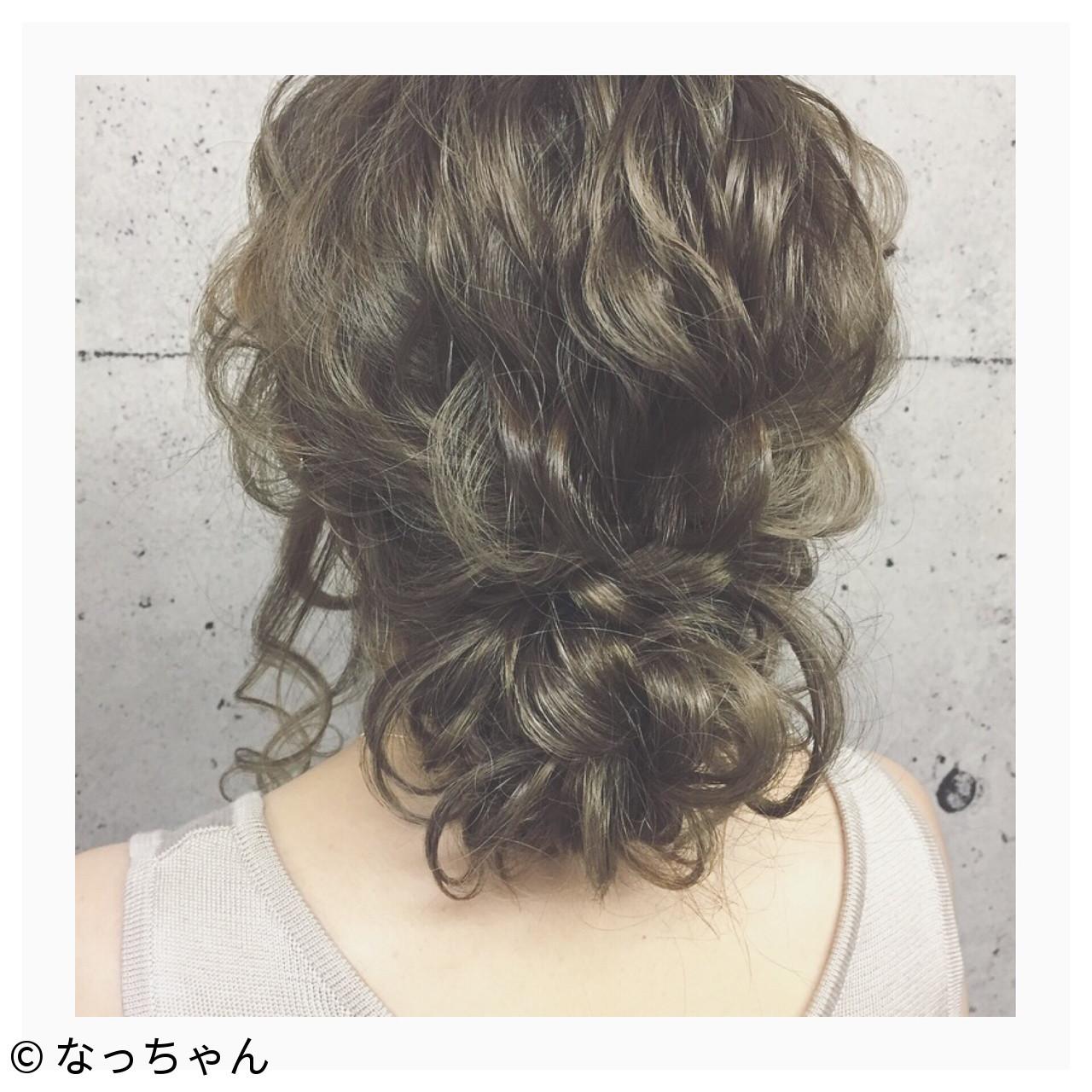 フェミニン デート パーティ ロング ヘアスタイルや髪型の写真・画像   なっちゃん / G-girl