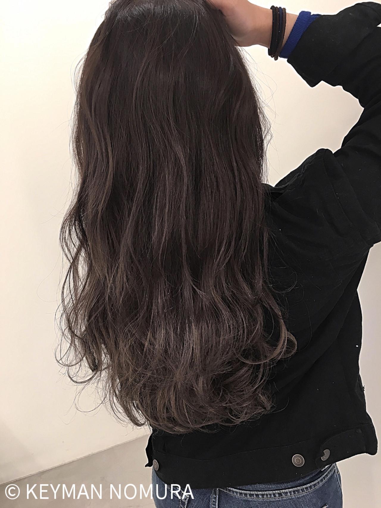 グレー アッシュ ストリート 冬 ヘアスタイルや髪型の写真・画像 | KEYMAN NOMURA / KEYMAN hair&eye