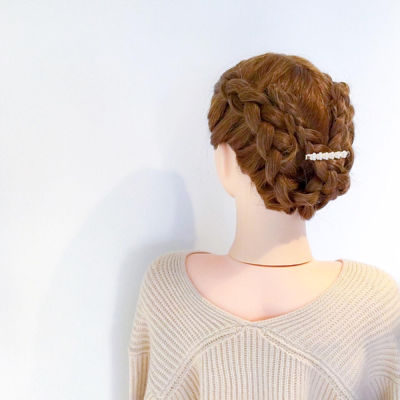 デート 結婚式 セミロング フェミニン ヘアスタイルや髪型の写真・画像   美容師HIRO/Amoute代表 / Amoute/アムティ