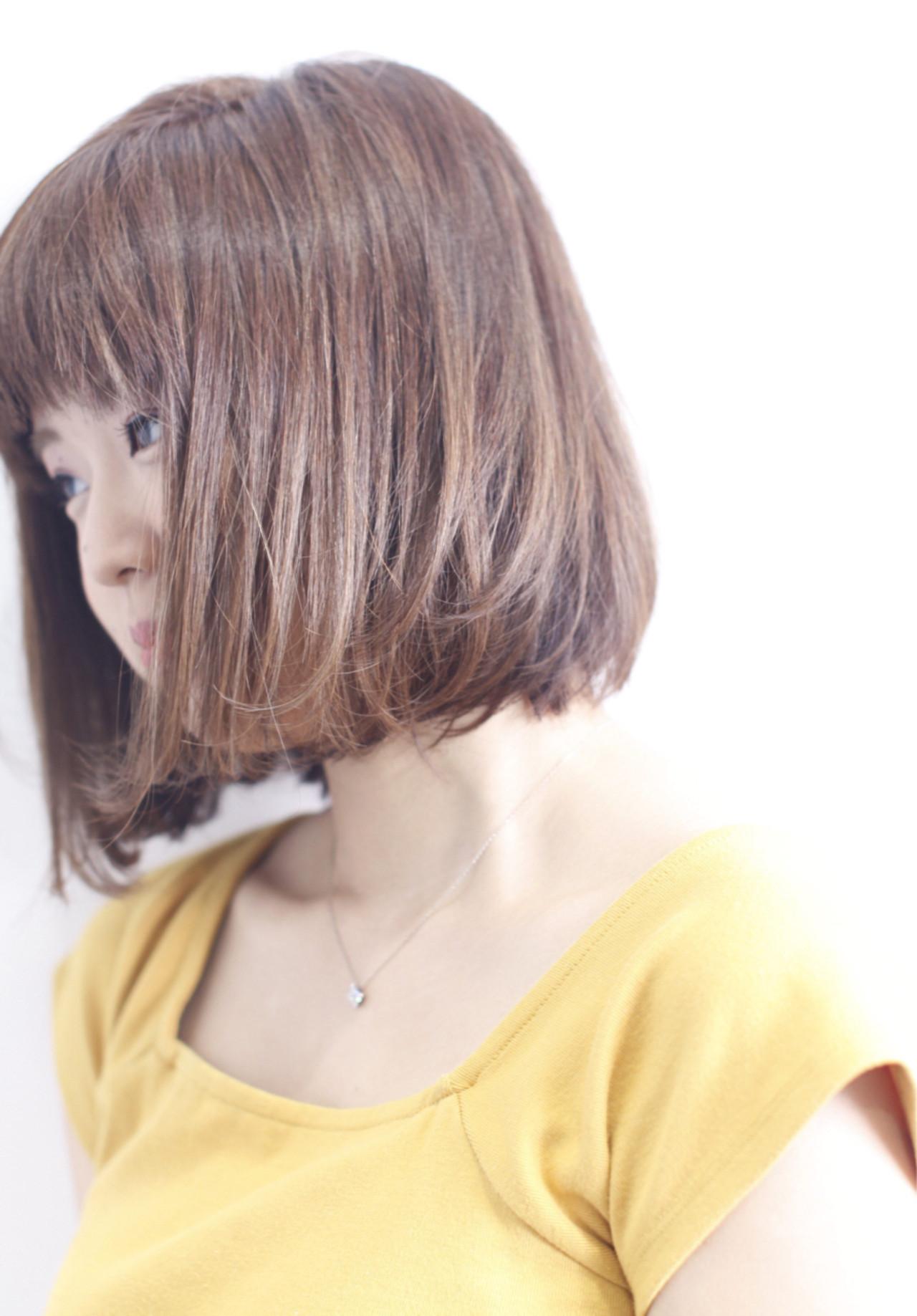 ナチュラル 外国人風カラー ダブルカラー ワンカール ヘアスタイルや髪型の写真・画像