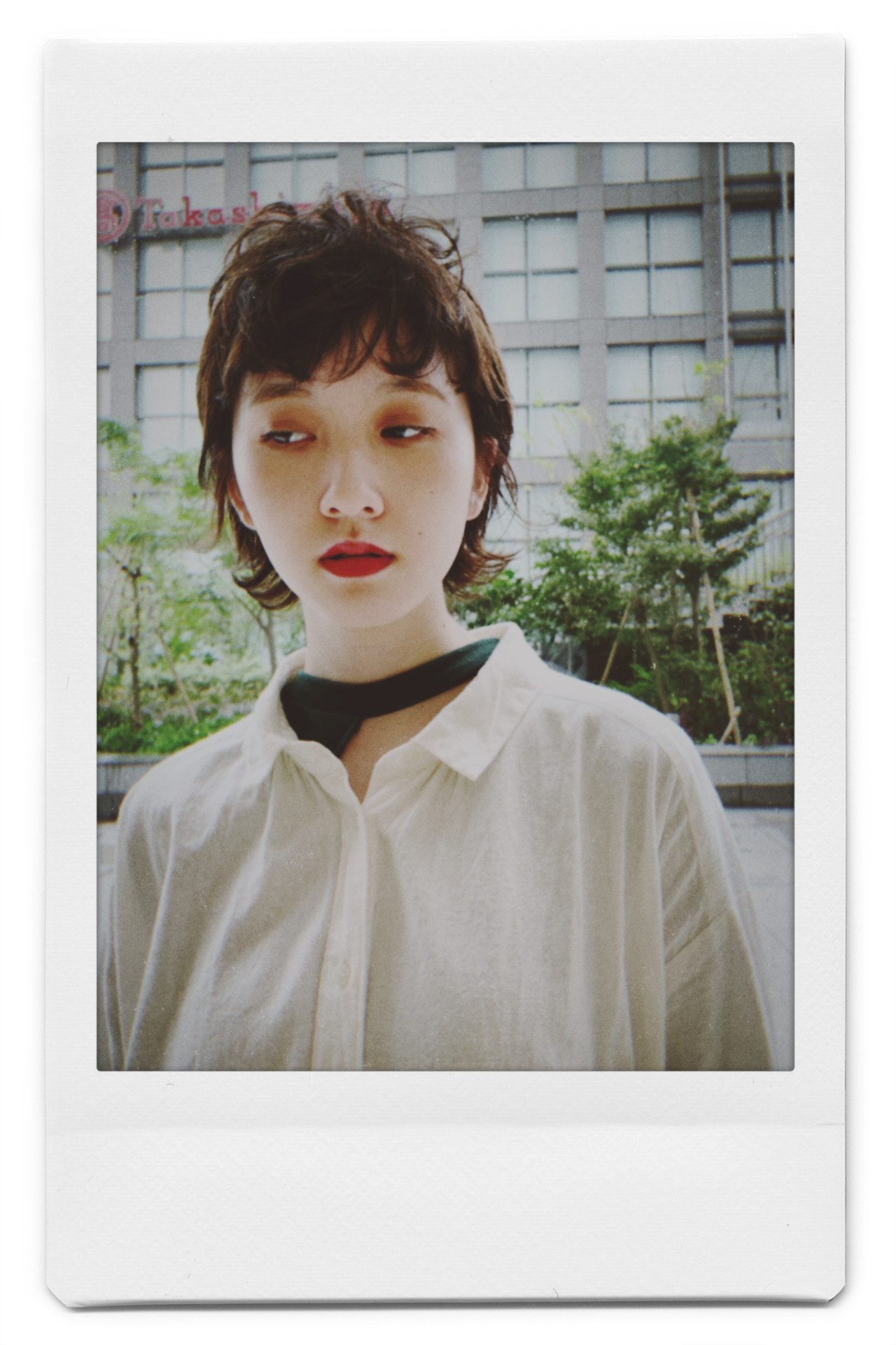 PEEK-A-BOO ショート ウルフカット 似合わせカット ヘアスタイルや髪型の写真・画像 | 阿藤俊也 / PEEK-A-BOO NEWoMan新宿