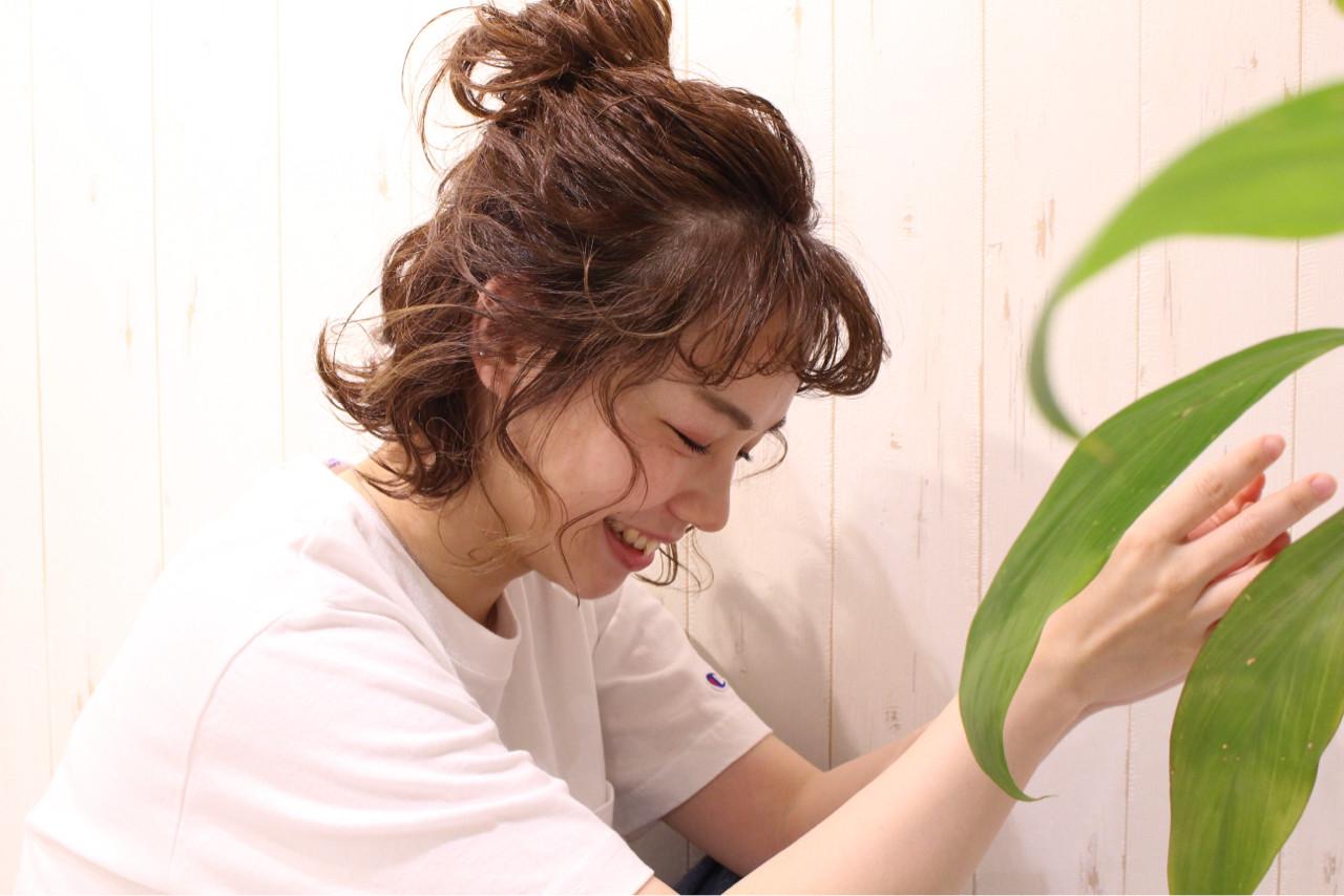 ヘアアレンジ デート 簡単ヘアアレンジ 愛され ヘアスタイルや髪型の写真・画像