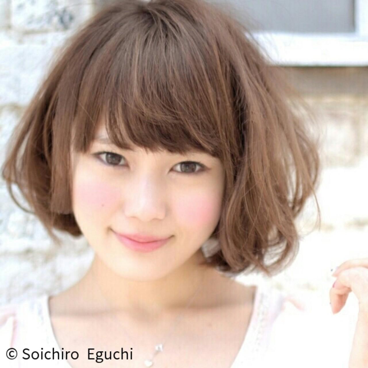 こなれ感 ボブ 外国人風 ゆるふわ ヘアスタイルや髪型の写真・画像 | Soichiro Eguchi / La familia(原宿) Bonita by Lafamilia(横浜元町)