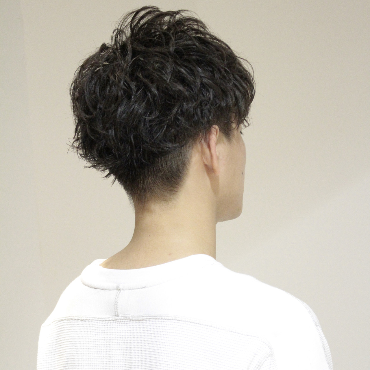 メンズカット メンズパーマ メンズ ショート ヘアスタイルや髪型の写真・画像 | 関 / Boa sorte
