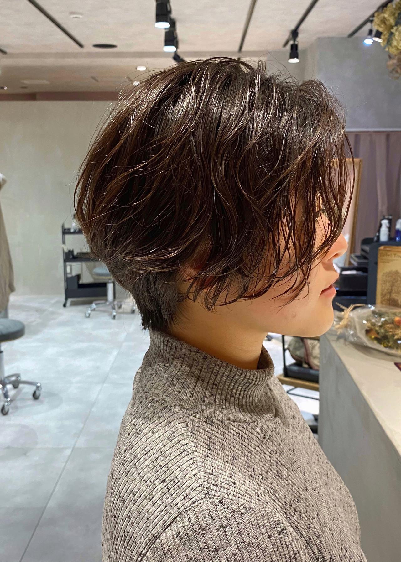 ショートヘア ナチュラル 抜け感 ショート ヘアスタイルや髪型の写真・画像 | 加山 暸汰 / till