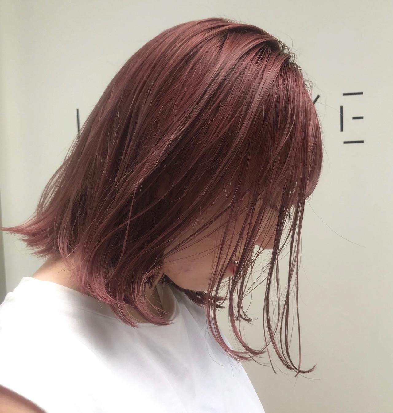 デート ボブ オフィス ヘアアレンジ ヘアスタイルや髪型の写真・画像