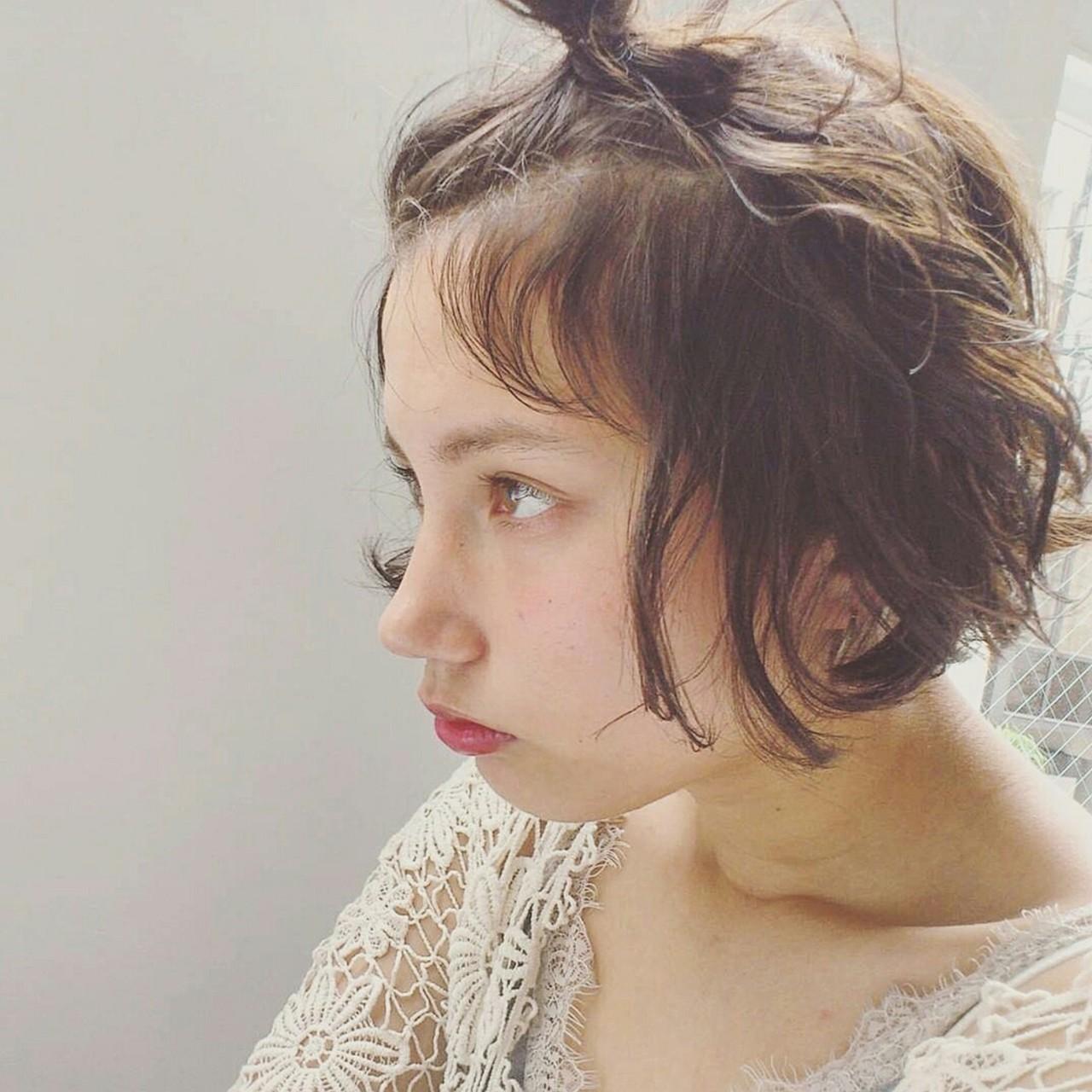 外国人風 ヘアアレンジ 簡単ヘアアレンジ ナチュラル ヘアスタイルや髪型の写真・画像 | Yukie Horiuchi / スパイスアヴェダ