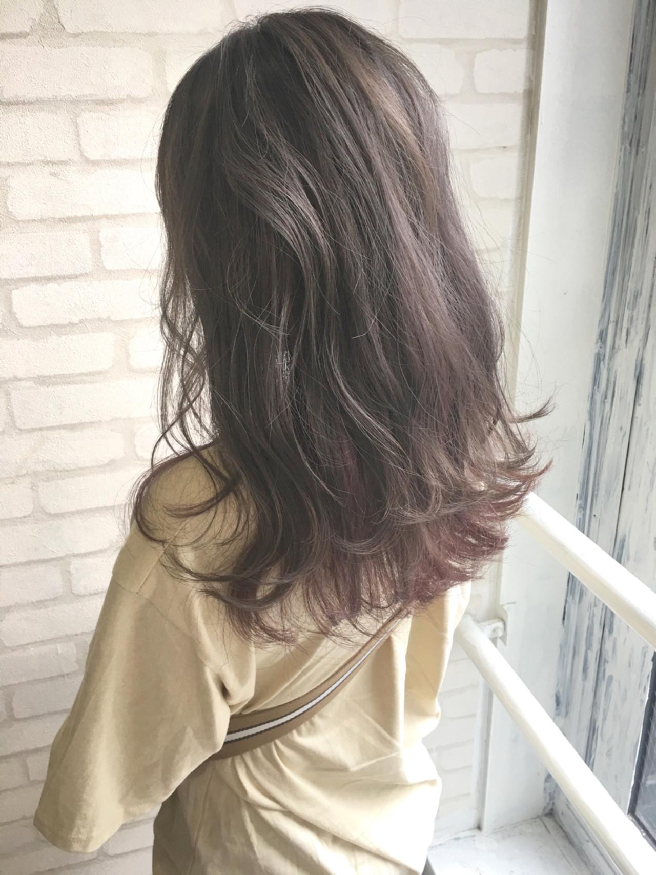 ヘアアレンジ フェミニン ガーリー セミロング ヘアスタイルや髪型の写真・画像