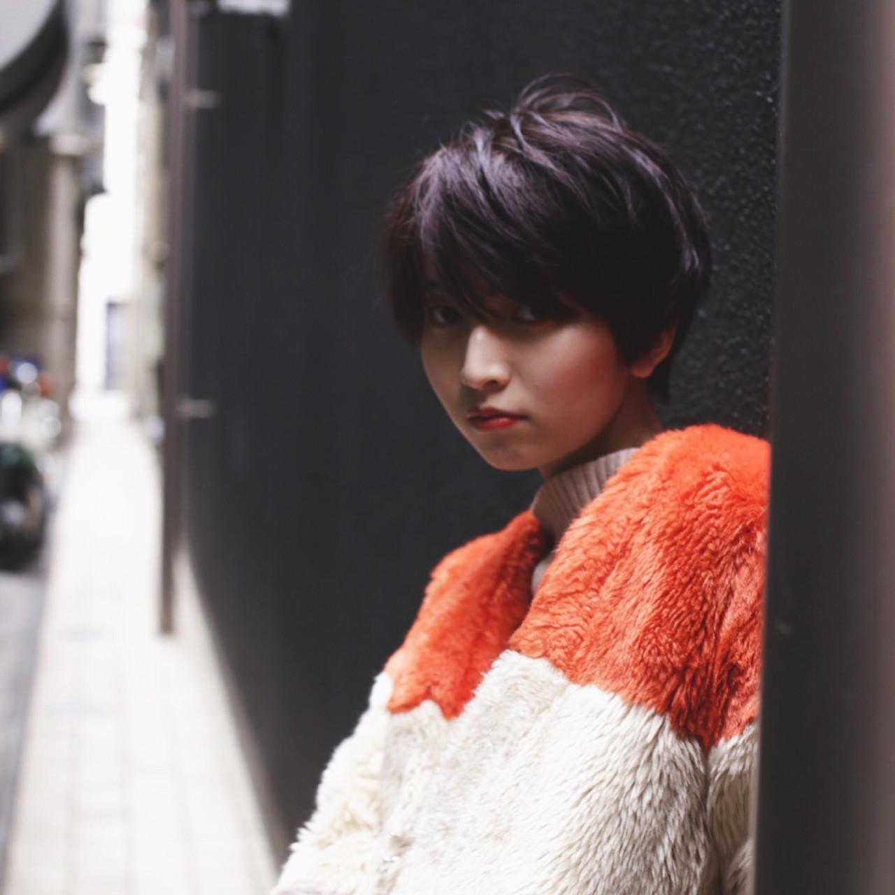 黒髪ショートの清楚さが人気。愛されヘアスタイルをつくろう  及川 大輝