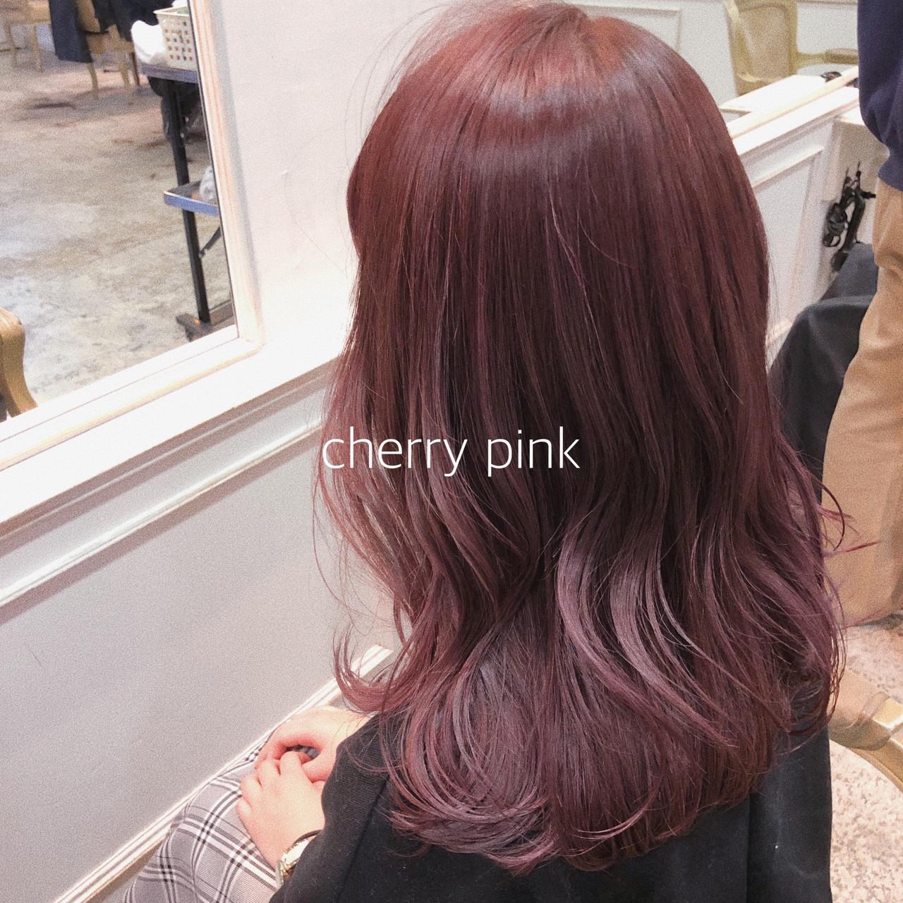 イルミナカラー シースルーバング ヘアアレンジ ナチュラル ヘアスタイルや髪型の写真・画像 | ikeo gaku / H-eitf