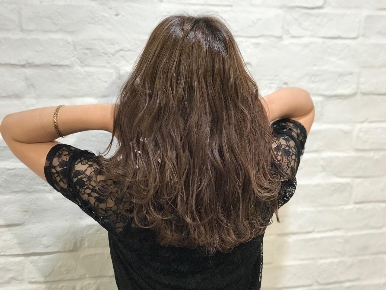セミロング ナチュラル グラデーションカラー 外国人風 ヘアスタイルや髪型の写真・画像 | ABBEY 迫田 紘史 / ABBEY