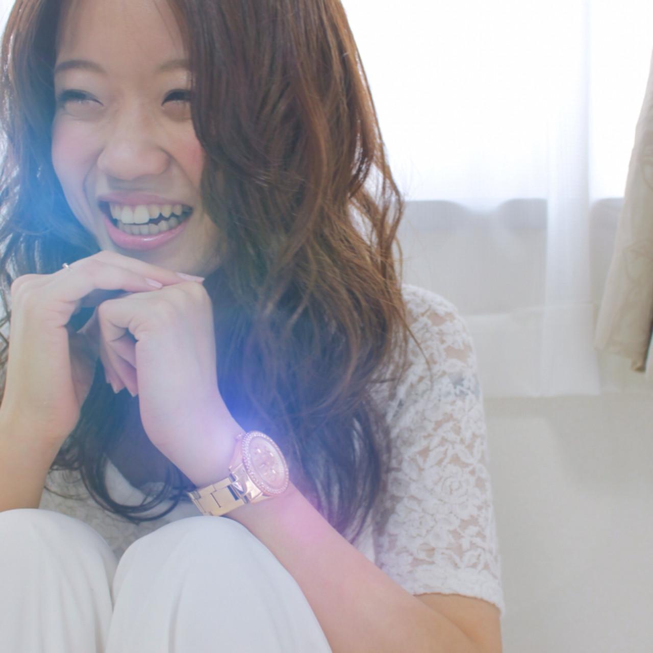アンニュイ くせ毛風 ミディアム パーマ ヘアスタイルや髪型の写真・画像   サワ / Seamu