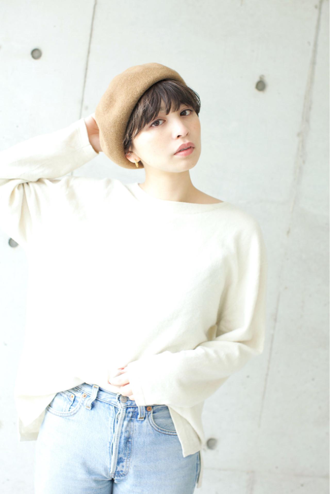 アッシュ ゆるふわ 小顔 外国人風カラー ヘアスタイルや髪型の写真・画像 | 佐脇 正徳 / LOAVE AOYAMA(ローヴ アオヤマ)
