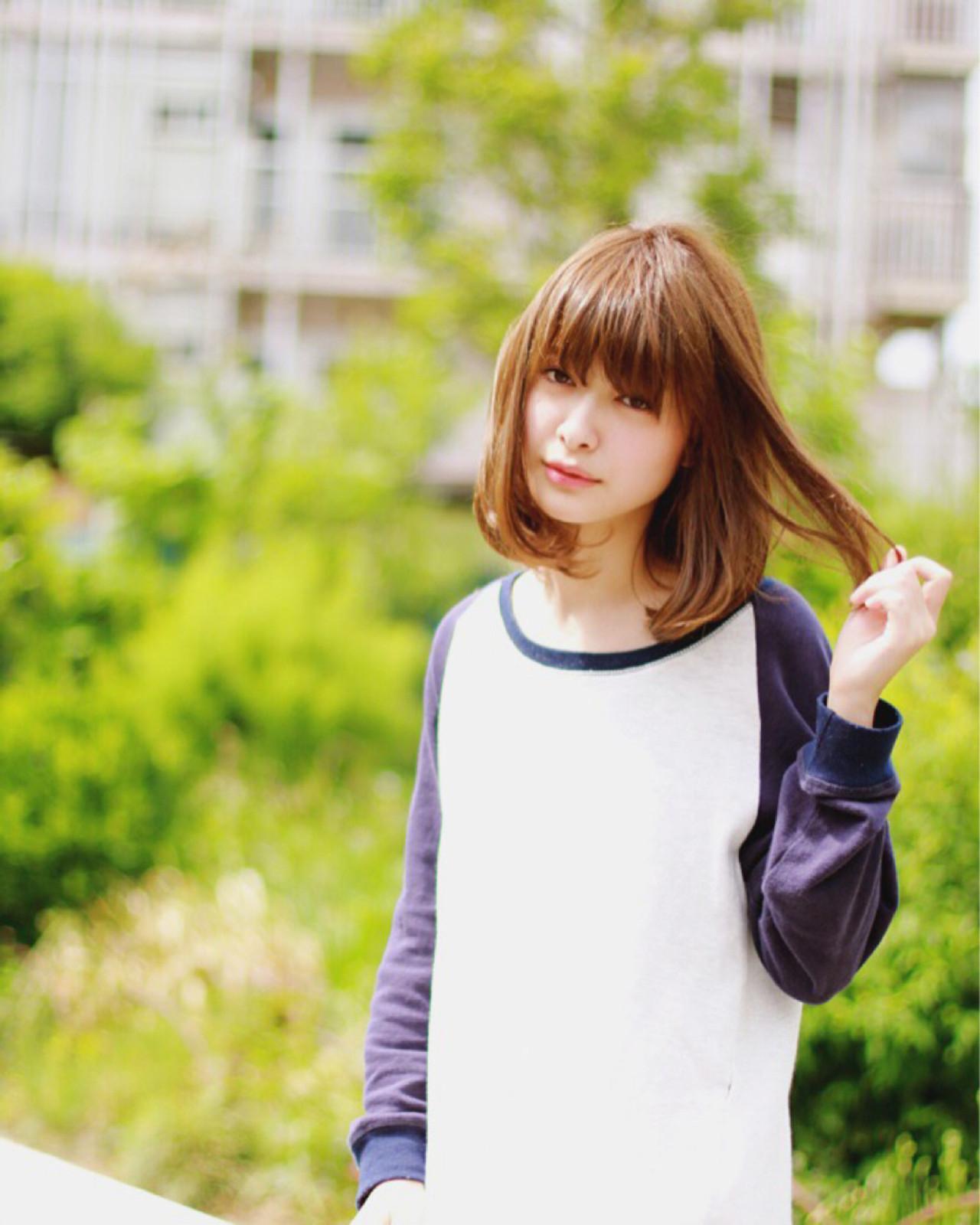 アッシュ ナチュラル 色気 ゆるふわ ヘアスタイルや髪型の写真・画像 | 菅 孝太郎 / andrey