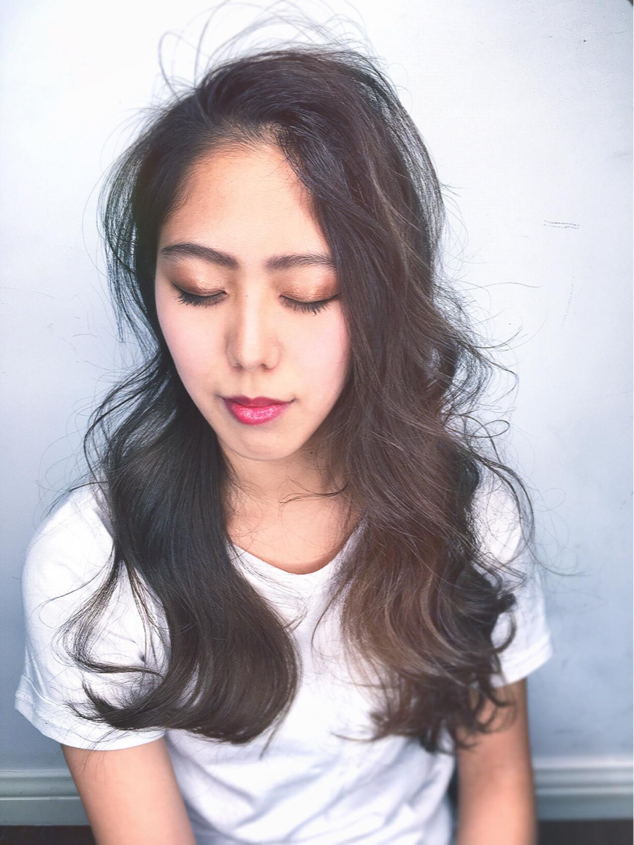 オフィス パーマ リラックス 色気 ヘアスタイルや髪型の写真・画像   筒井 隆由 / Hair salon mode