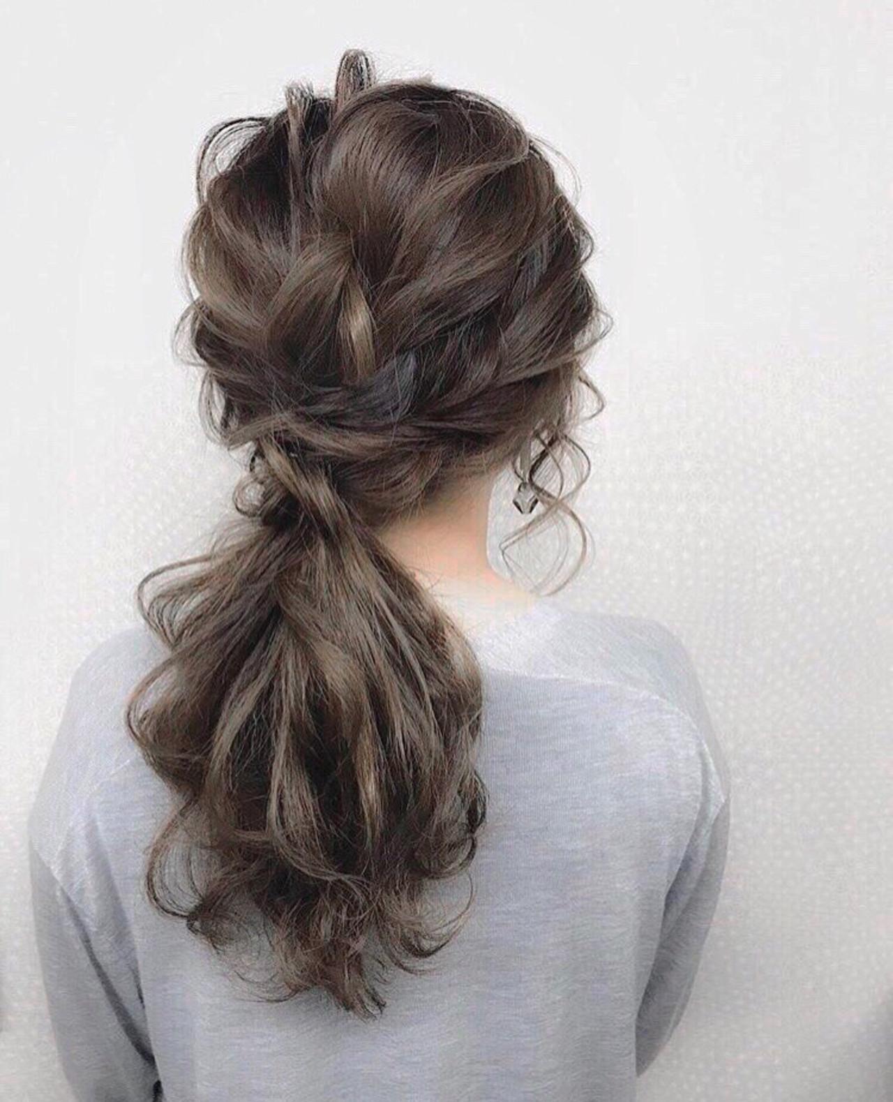 簡単ヘアアレンジ ヘアアレンジ デート 結婚式 ヘアスタイルや髪型の写真・画像   三木 奨太 / hair set salon  IRIS