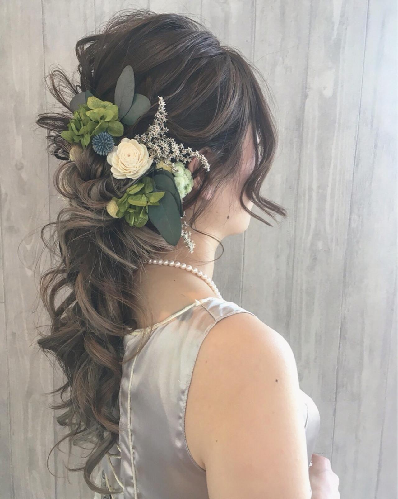 ウエディングドレス向けヘアスタイル♡人生で1番美しい私になれる髪型10選 宮田 恵里香