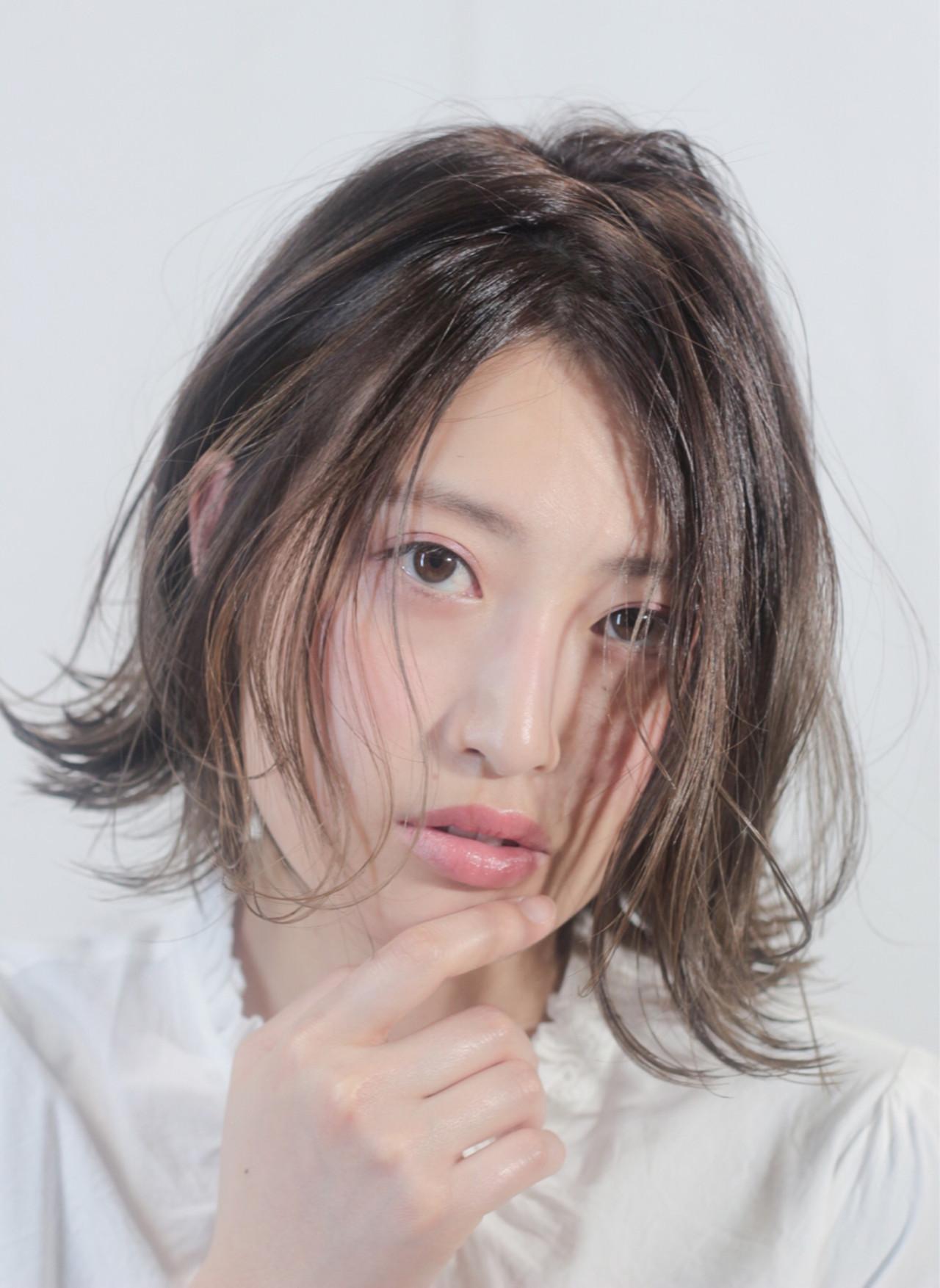 外国人風カラー 透明感 ナチュラル グラデーションカラー ヘアスタイルや髪型の写真・画像