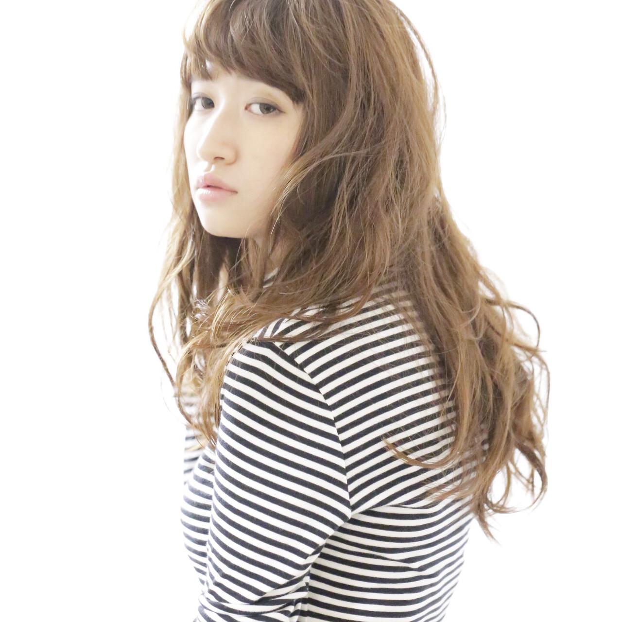 ゆるふわ ナチュラル 透明感 ウェーブ ヘアスタイルや髪型の写真・画像 | 川田 舞 / claude MONET 吉祥寺店
