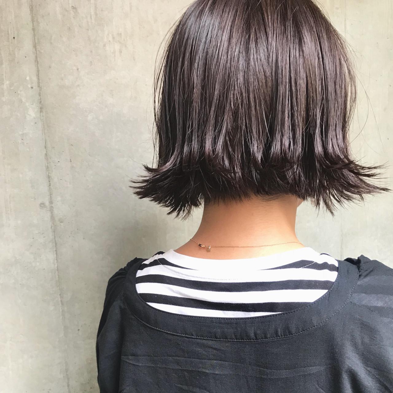 モード ヘアアレンジ パーティ ボブ ヘアスタイルや髪型の写真・画像 | bibito crew / bibito