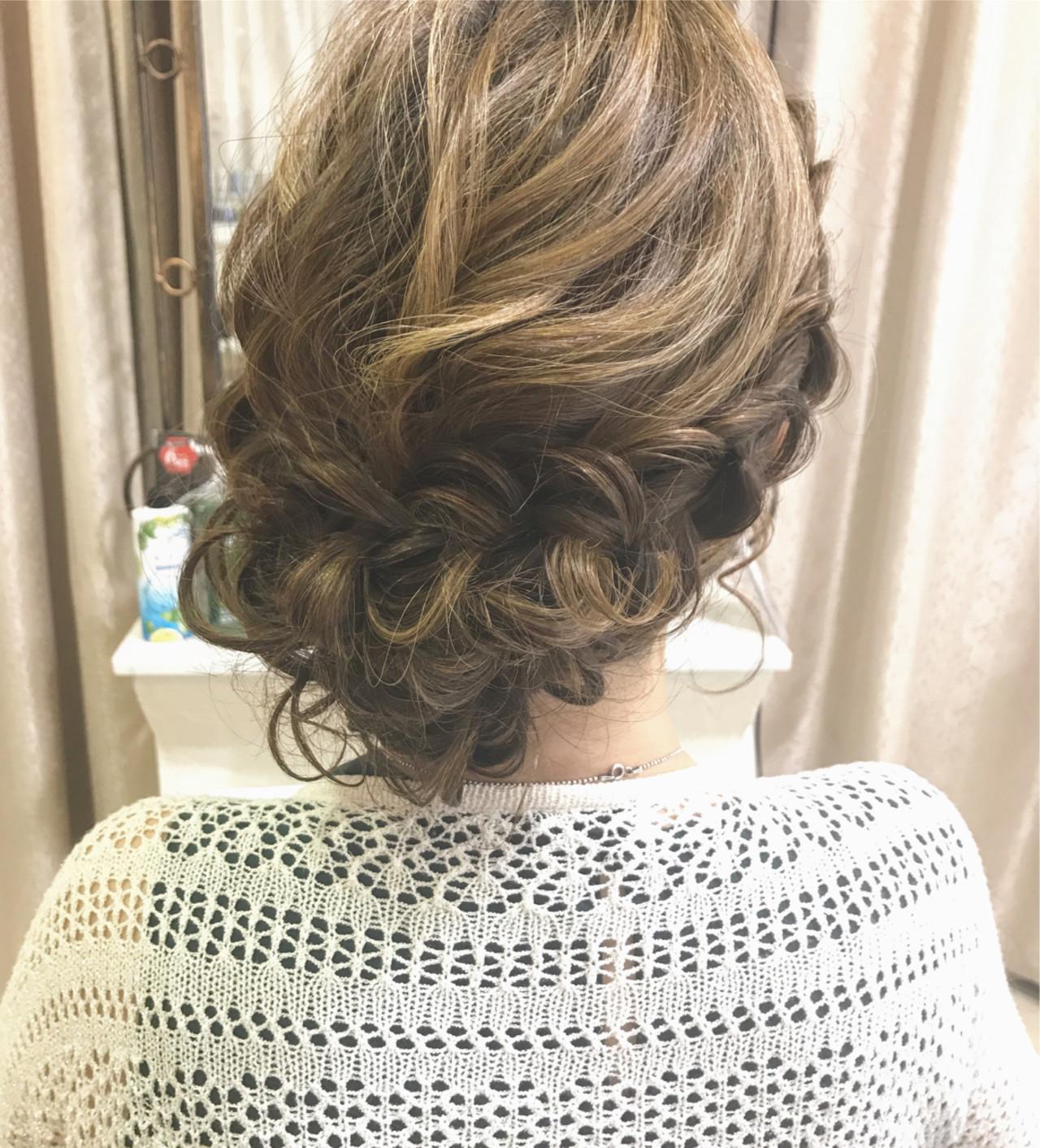 大人女子 ヘアアレンジ 女子会 夏 ヘアスタイルや髪型の写真・画像   大平 結花 / GLAMOROUS (グラマラス)