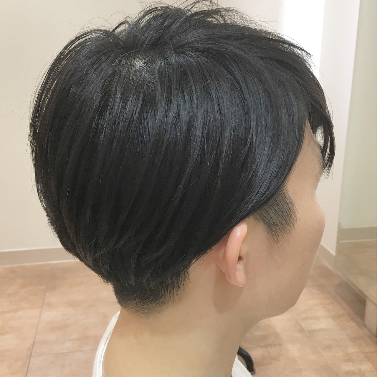 ショート メンズヘア ナチュラル 刈り上げ ヘアスタイルや髪型の写真・画像